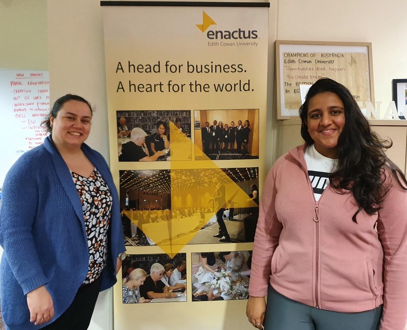 Enactus ECU Leadership Elected - August 2020