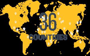 Enactus in 36 countries